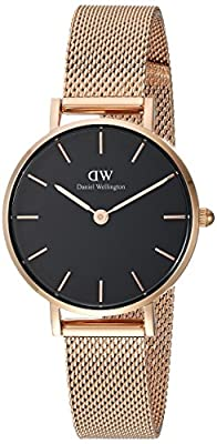 Daniel Wellington Classic Petite Melrose in Black 28mm by Daniel Wellington Inc. Parent Code