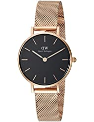 Daniel Wellington Classic Petite Melrose in Black 28mm