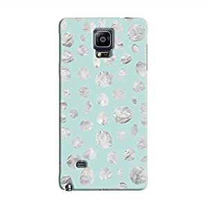Cover It Up - Diamond Blue Pebbles Galaxy Note 4 Hard case