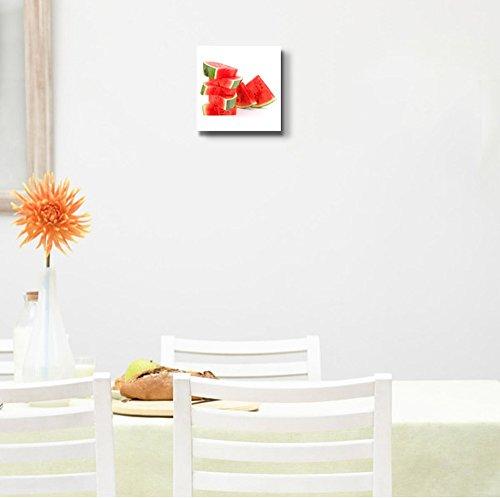 Sliced Ripe Watermelon Fresh Fruits Photograph Wall Decor