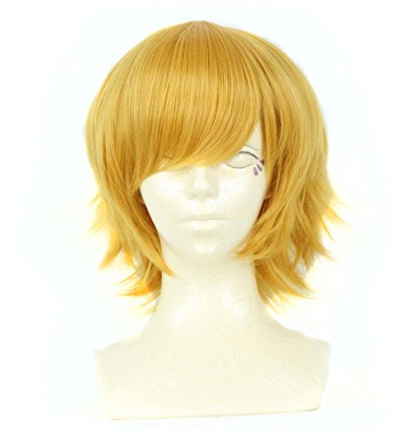 [Cosplay anime wig trend of men's hair] (Male Troll Doll Costume)