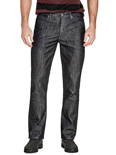 GUESS Factory Mens Crescent Straight Jeans
