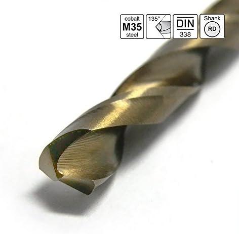 LZQ Metal Drill Bit Set 170 Pieces DIN 338 Professional Masonry Drill Bit Set 1-10 mm 135° Metal Drill Set HSS Ground HSS Cobalt Professional Quality Split Point Hand Drill