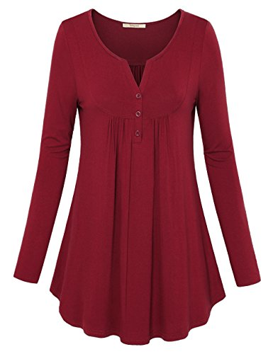 Red A-Line Top - 6