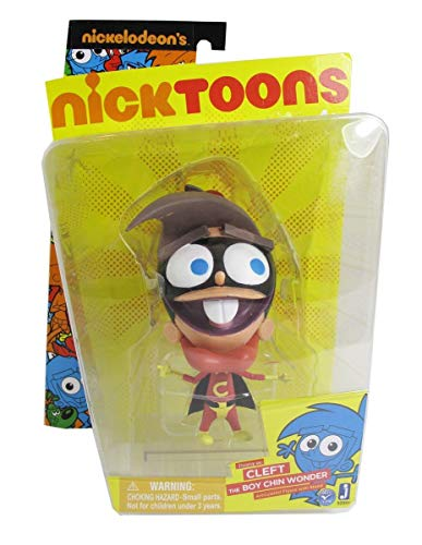 Nicktoons Fairly Odd Parents 6 Inch Articulated Action Figure - Timmy as The Boy Chin Wonder (Fairly Toys Parents Odd)