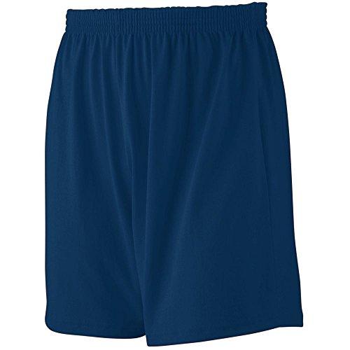 Augusta Sportswear MEN'S JERSEY KNIT SHORT L NAVY