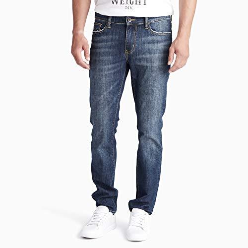 - William Rast Men's Hollywood Slim Fit Denim Jean, Grille/Fading 34 x 32