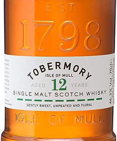 Tobermory Whisky Single Malt Isle Of Mull - 700 ml