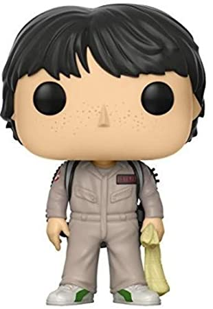 Funko - POP! Vinilo Colección Stranger Things - Figura Mike Ghostbuster (21486)