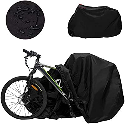 WOTOW - Cubierta impermeable para bicicleta – Material resistente ...