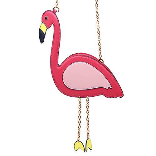 SUKUTU Women Girls Flamingo Cross Body Purses Bags