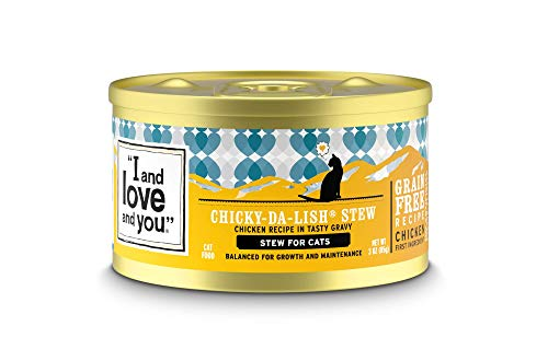 'I and love and you' Naked Essentials Canned Wet Cat Food - Grain Free, Chicken...