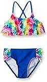 Freestyle Girls' Tiedye Heart Two Piece Swimsuit