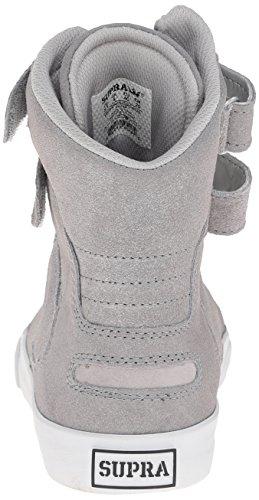 Society Womens White Silver Ii Silber Svr Donna Argento Supra Sneaker Ogqwq5