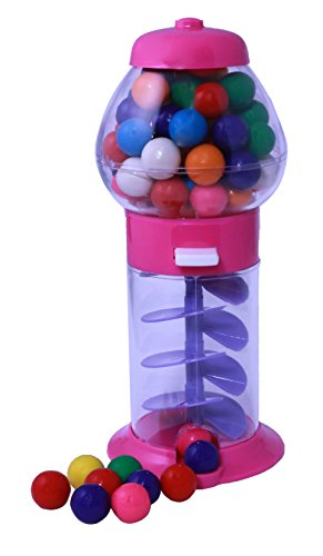 Mini Gumball Machines Choose Your Own Color (1, Pink) (Kids Mini Gumball Machine)