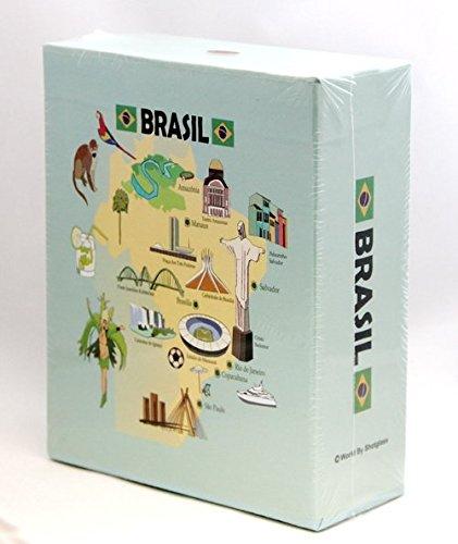 - Brazil Embossed Photo Album 200 Photos / 4x6 New