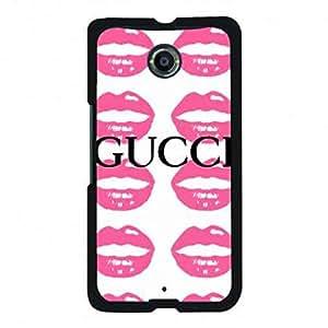 Vintage Design Google Nexus 6 Gucci Phone Case,Gucci Pattern Luxury Logo Back Cover For Google Nexus 6