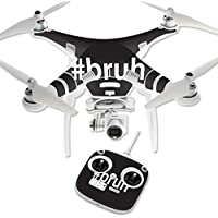 Skin For DJI Phantom 3 Standard – Bruh | MightySkins Protective, Durable, and Unique Vinyl Decal wrap cover | Easy To Apply, Remove, and Change Styles | Made in the USA