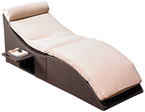 Mission Hills St.Lucia Chaise Lounge Adjustable Aluminum ...