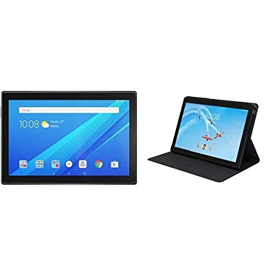 "Lenovo Tab 4, 8"" Android Tablet, Quad-Core Processor, 1.4GHz, 16GB Storage, Slate Black, ZA2B0009US"