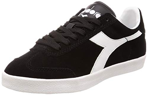 Diadora Multicolore Sport Unisexe Bianco nero Pitch Chaussures C0641 Adulte rHPwr
