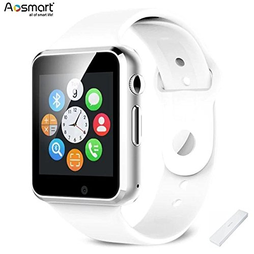 ad04ee40b6e6 Bluetooth reloj inteligente con cámara