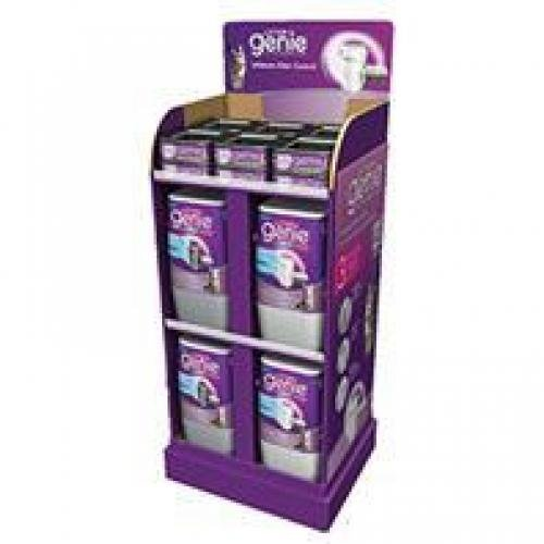 LITTER GENIE Plus Display 20 Pet Litter