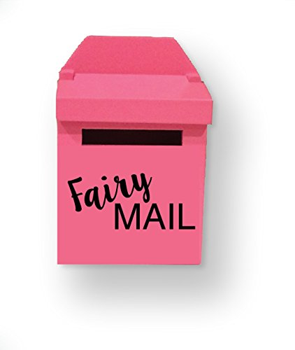 Free Pink Wooden Fairy Mailbox