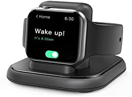 Conido Charging Stand for Apple Watch, Watch Charger Stand with Charging Cable, Magnetic Wireless Charging Station...