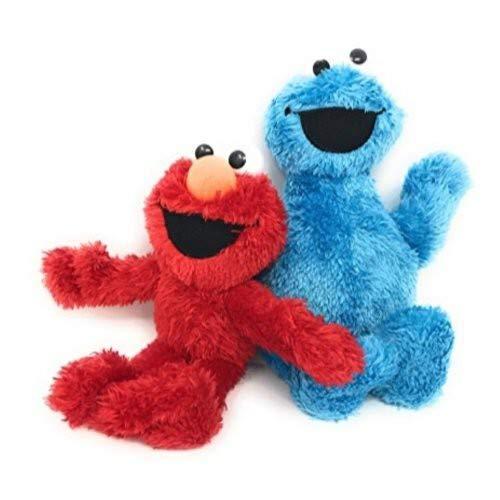 Hasbro Sesame Street Small Plush Pal - Elmo And Cookie Monster 9