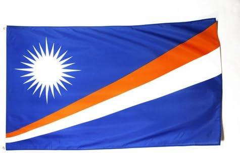AZ FLAG Bandera de Las Islas Marshall 150x90cm - Bandera MARSHALA 90 x 150 cm: Amazon.es: Hogar