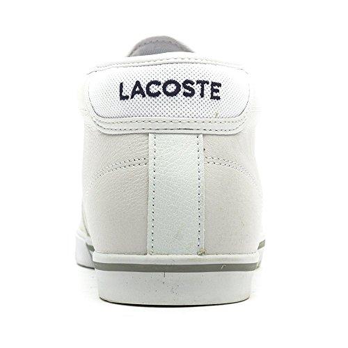 Sneaker Collo SPM Alto Lcr3 a Bianco Lacoste Ampthill white Uomo Oqgxtt