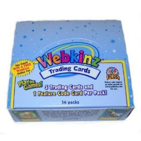 Webkinz Trading Card Game TCG Booster Box (36 Packs)