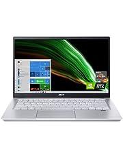 """Acer Swift X SFX14-41G-R1S6 Creator Laptop   14"""" Full HD 100% sRGB   AMD Ryzen 7 5800U   NVIDIA RTX 3050Ti Laptop GPU   16GB LPDDR4X   512GB NVMe SSD   Wi-Fi 6   Backlit Keyboard   Windows 10 Home"""