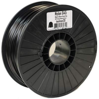 Taulman 3mm (2.85mm) Nylon 645 Black 3D Printing Filament (1kg Spool)