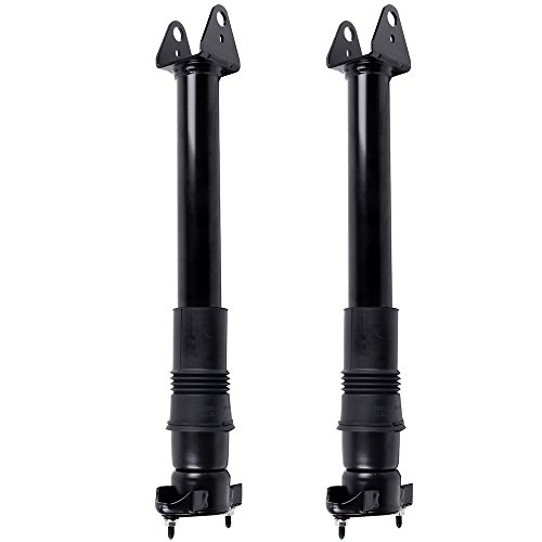 cciyu Air Suspension Shocks, Rear RWD 4WD Air Struts Absorbers Suspension Fit for 2010-2012 Mercedes-Benz GL350/ML450,2006-2012 Benz GL450/GL550/ML550/ML350,2005-2009 Benz GL320/ML320/ML500,Set of 2