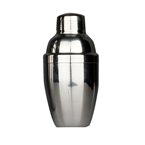 Lookatool New Stainless Steel Cocktail Shaker Martini Bartender Shaker Drink
