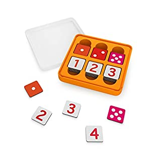 Osmo - Genius Numbers - Ages 6-10 - Math Equations (Counting, Addition, Subtraction & Multiplication) - For iPad or Fire Tablet - STEM Toy (Osmo Base Required - Amazon Exclusive)