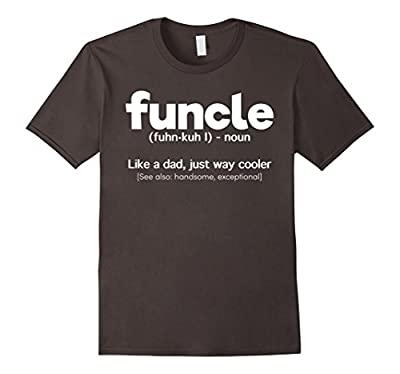 Mens Funcle Definition T-shirt Funny Gift For Uncle