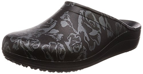 Metallic Crocs Women's Clog Graphic black Sloane Rose IRnRS1Ox