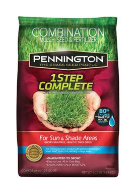 Pennington 1 Step Complete Sun & Shade Mulch, 8.3-Pound