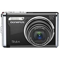 Olympus Stylus 9000 12 MP Digital Camera with 10x Wide Angle Optical Dual Image Stabilized Zoom and 2.7-Inch LCD (Black) Overview Review Image