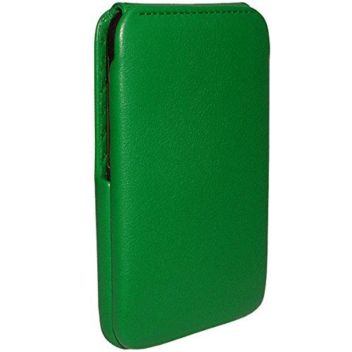 Piel Frama Wallet Case for HTC Desire HD - Green by Piel Frama