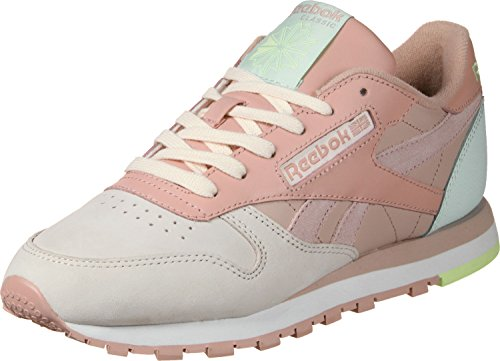 Cl Turchese Leather Reebok Rosa W Pm Scarpa gAUqzU