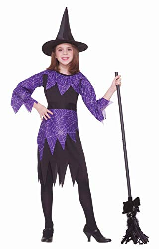 Forum Novelties Spider Witch Costume, Child Large ()