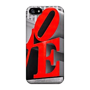 Case Cover Love Red/ Fashionable Case For Iphone 5/5s