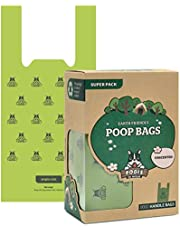 Pogi's Poop Bags - 300 Unscented Bags with Easy-Tie Handles - Biodegradable, Large, Leak-Proof Dog Poop Bags