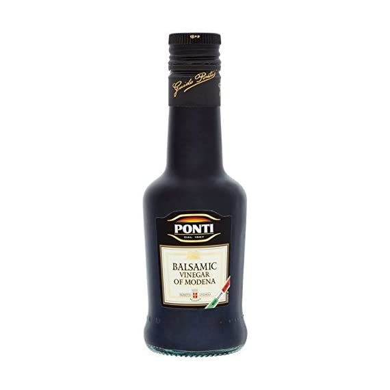 Ponti Balsamic Vinegar Of Modena - 250ml (8.45fl oz) 1 250ml - (8.45 fl oz) Ponti *Please not Best Before/Expiration UK is DD/MM/YYYY
