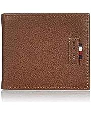 Tommy Hilfiger Beige Leather For Men - Bifold Wallets