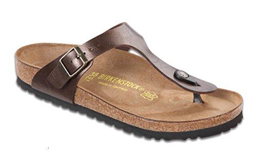 Birkenstock Women's Gizeh Fashion Sandals, Toffee Leather, 35 M